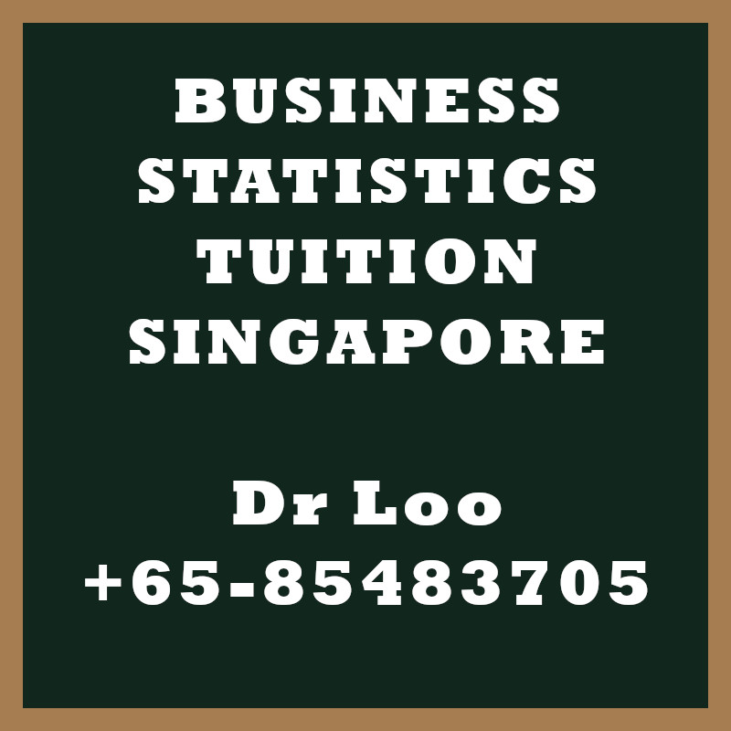 Business Statistics Private Tutor in Singapore
