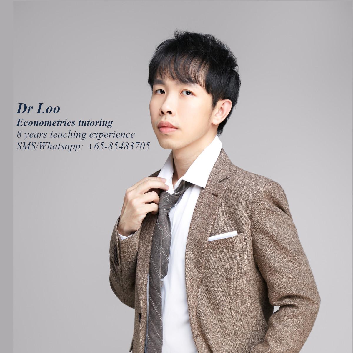 Econometrics tutor Singapore