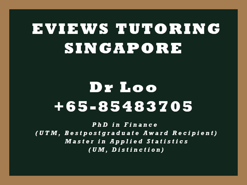 Eviews Tuition Singapore