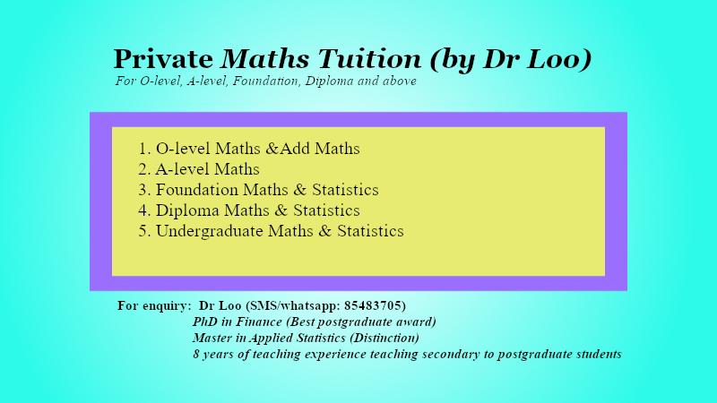 JC A-level H1 & H2 Online Math Tutoring Singapore