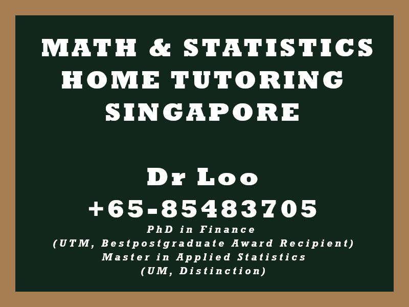 Mathematics Home Tutor Singapore