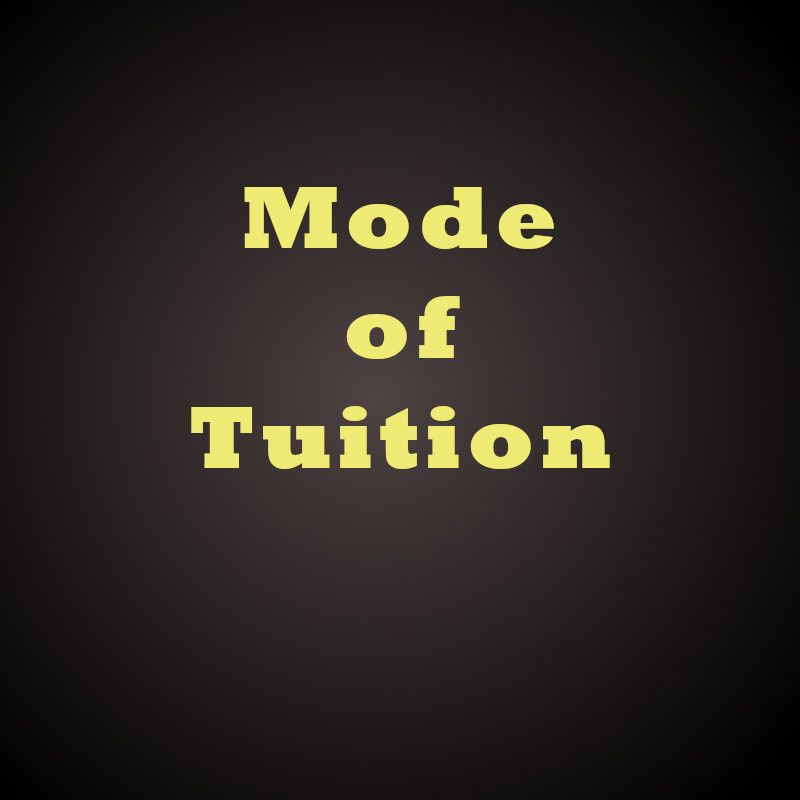 Mode of O-level Math Tuition