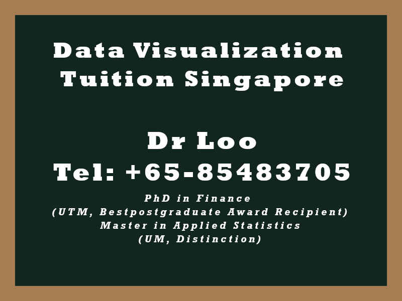 Data Visualization Private Tuition in Singapore