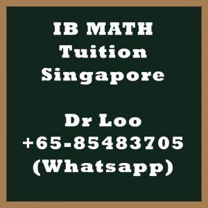 IB Math Tuition Singapore