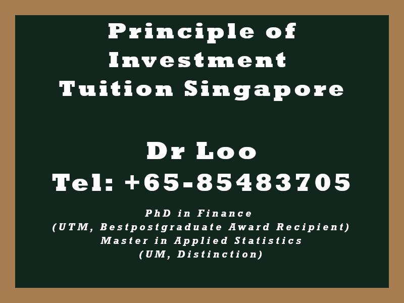 Principle of Investment Private Tuition in Singapore