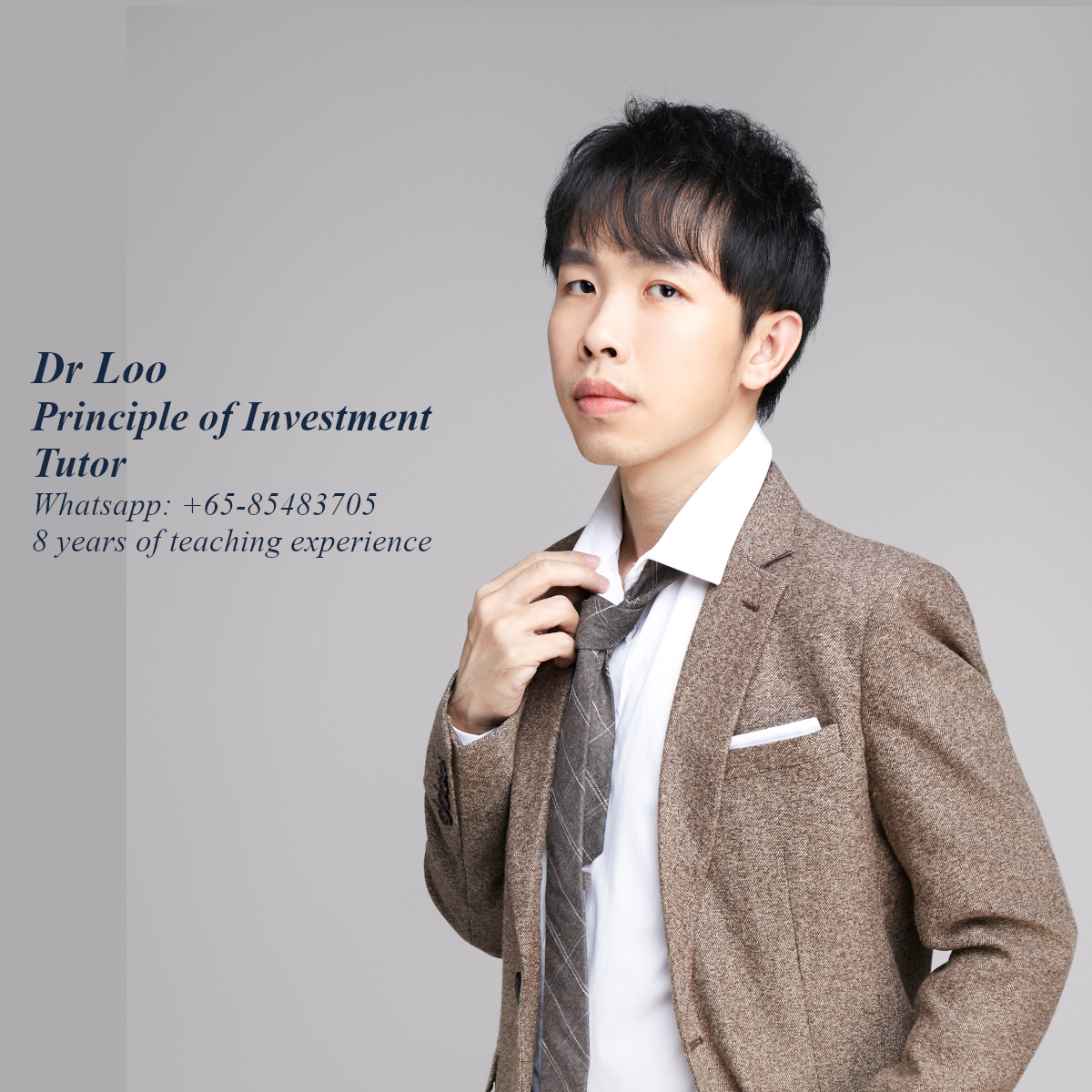 Principle of Investment Tutor in Singapore
