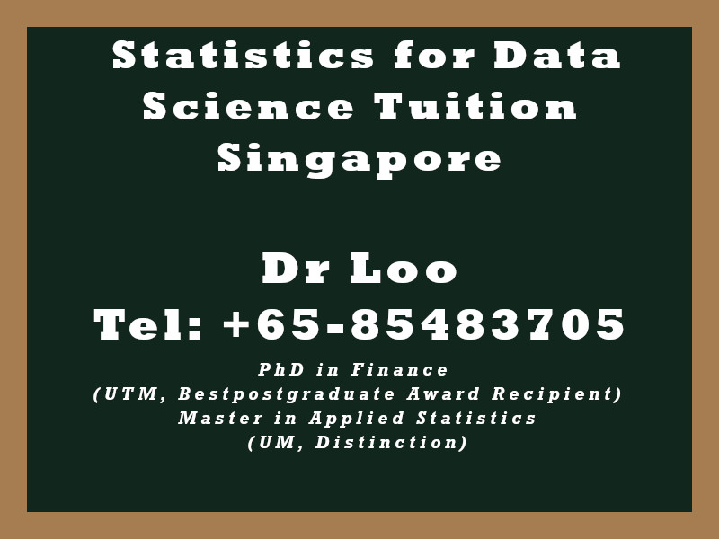 Statistics for Data Science Private Tuition in Singapore